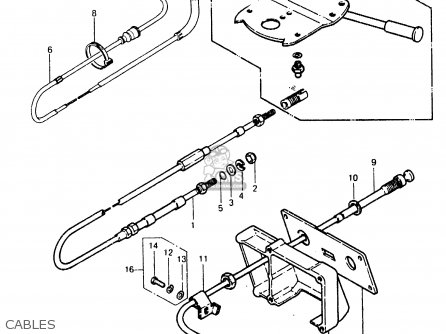 Kawasaki 1989 A8: Js550 parts list partsmanual partsfiche