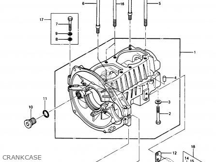 Kawasaki 1989 A8: Js550 (north America) parts list