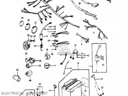 Kz1000 Wiring Diagram. Kz1000. Wiring Diagram