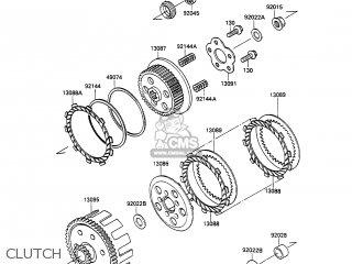 Kawasaki 1990 A2: Kx100 parts list partsmanual partsfiche