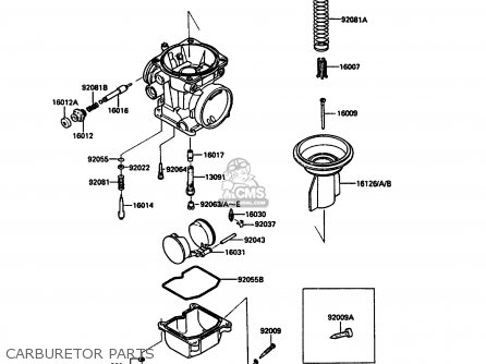 Kawasaki 1990 A7: Zx900 parts list partsmanual partsfiche