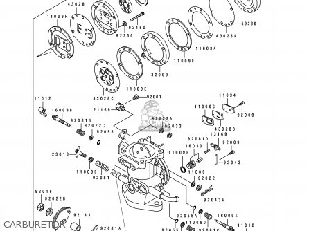 Kawasaki 1990 B1: Js550 parts list partsmanual partsfiche
