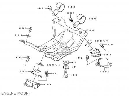 Kawasaki 1990 B1: Js550 parts list partsmanual partsfiche
