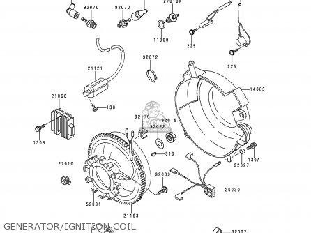 Kawasaki 1990 C1: Kaf620 parts list partsmanual partsfiche