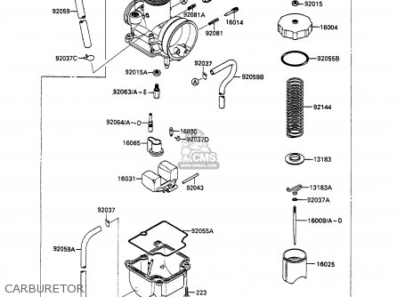 Kawasaki 1990 N3: Kx80 parts list partsmanual partsfiche