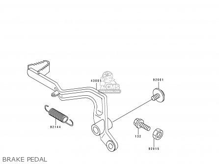 Kawasaki 1991 S1: Kx80 parts list partsmanual partsfiche