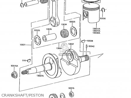 Kawasaki 1992 C10: Ar50 parts list partsmanual partsfiche
