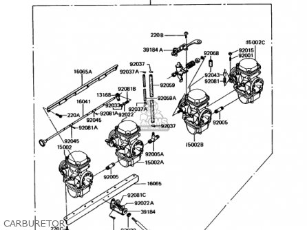 Kawasaki 1992 Kz1000-p11 Police 1000 parts list