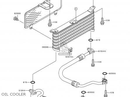 Kawasaki 1992 L2: Zx400 parts list partsmanual partsfiche