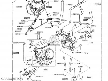 Kawasaki 1993 A9: Vn750 parts list partsmanual partsfiche