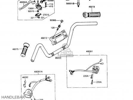Kawasaki 1993 A9: Vn750 parts list partsmanual partsfiche