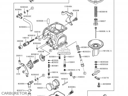 Kawasaki 1993 C1: Klx650 parts list partsmanual partsfiche