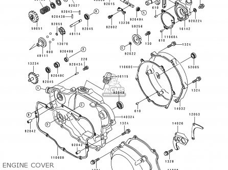 Kawasaki 1993 J2: Kx250 parts list partsmanual partsfiche