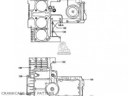 Kawasaki 1993 Kz1000-p12 Police 1000 parts list