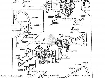Kawasaki 1994 C1: Vn1500 parts list partsmanual partsfiche