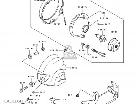 Kawasaki 1994 D5: El250 parts list partsmanual partsfiche