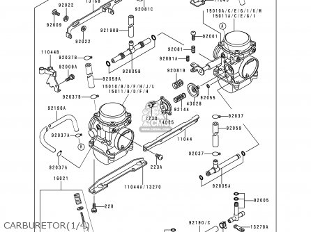 Kawasaki 1995 A5: Kle500 parts list partsmanual partsfiche