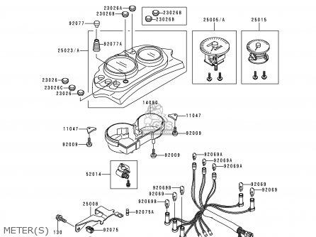 Kawasaki 1995 A5: Kle500 parts list partsmanual partsfiche