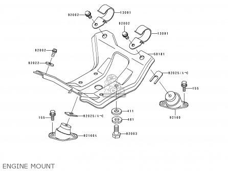 Kawasaki 1995 C5: Js550 parts list partsmanual partsfiche