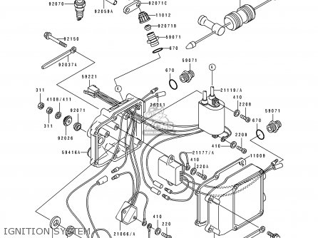 Kawasaki 1995 C5: Js550 (north America) parts list