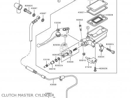 Kawasaki 1995 D3: Zx1100 parts list partsmanual partsfiche