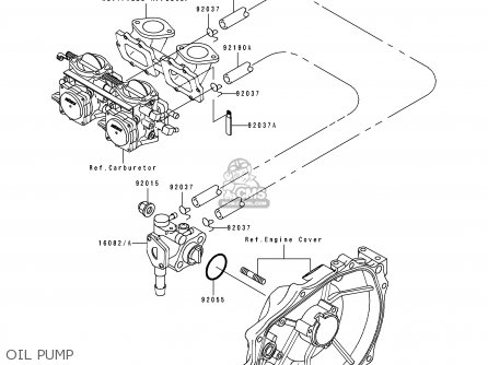 Kawasaki 1996 B2: Jt750 parts list partsmanual partsfiche
