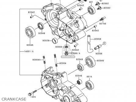 Kawasaki 1996 H2: Kdx200 parts list partsmanual partsfiche