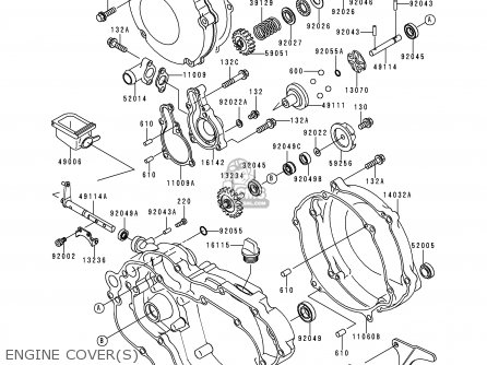 Kawasaki 1996 K3: Kx125 parts list partsmanual partsfiche