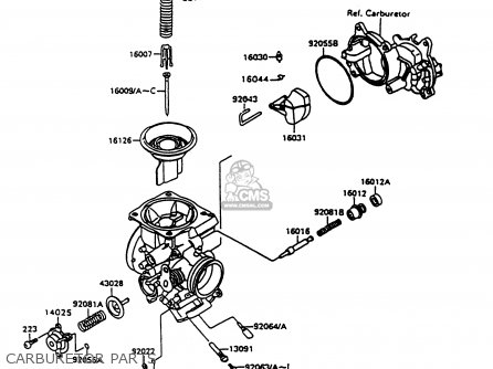 Kawasaki 1997 A11: Vn1500 (north America) parts list