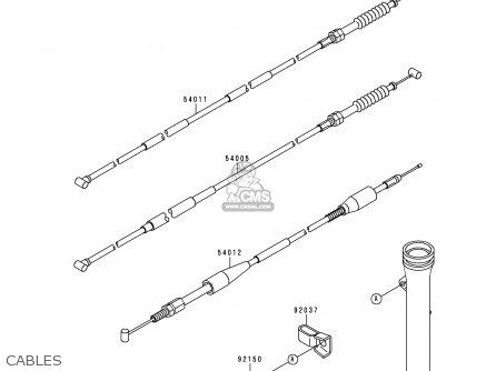 Kawasaki 1997 B13: Kx60 parts list partsmanual partsfiche