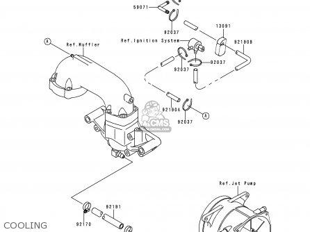 Kawasaki 1997 C3: Jh750 parts list partsmanual partsfiche