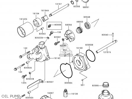 Kawasaki 1997 F3: Zx600 parts list partsmanual partsfiche