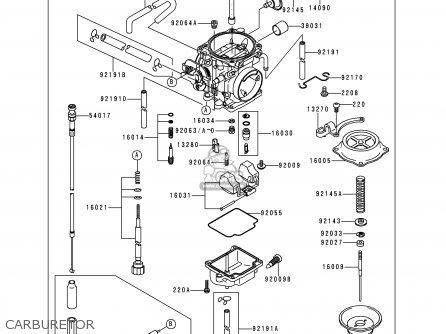 Kawasaki 1997 H1: Kl250 parts list partsmanual partsfiche