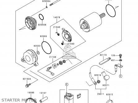 Kawasaki 1997 P2: Zx750 parts list partsmanual partsfiche