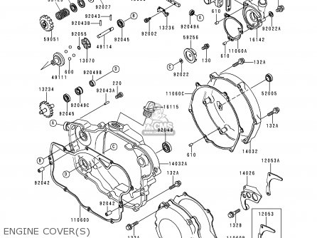 Kawasaki 1998 K5: Kx250 parts list partsmanual partsfiche