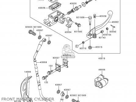 Kawasaki 1998 K5: Kx250 parts list partsmanual partsfiche