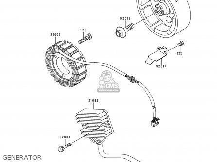 Kawasaki 1999 A9: Kle500 parts list partsmanual partsfiche