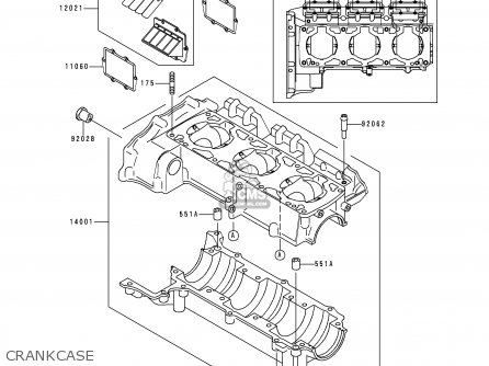 Kawasaki 1999 B1: Jt900 parts list partsmanual partsfiche