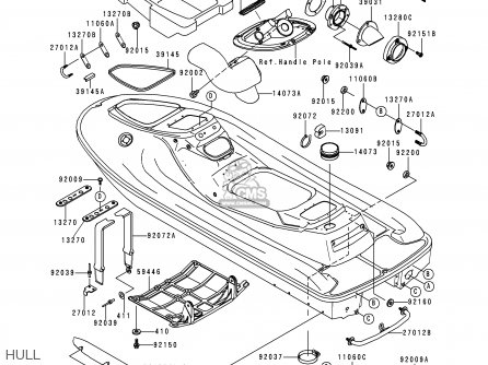 Kawasaki B1 Jt900 Parts List Partsmanual Partsfiche