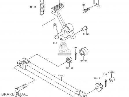 Kawasaki 1999 C3: Zr1100 parts list partsmanual partsfiche