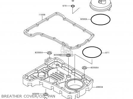 Kawasaki 1999 F1: Zr750 parts list partsmanual partsfiche