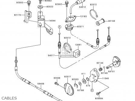 Kawasaki 1999 G2: Jh750 parts list partsmanual partsfiche