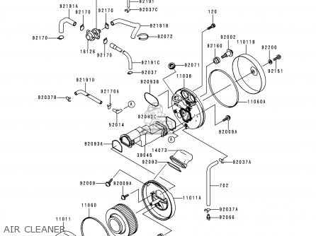 Kawasaki 1999 J1: Vn1500 parts list partsmanual partsfiche