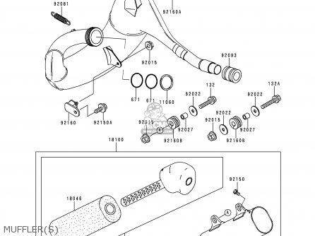 Kawasaki 1999 L1: Kx250 parts list partsmanual partsfiche