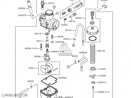 Kawasaki 1999 Y2: Kx80 parts list partsmanual partsfiche