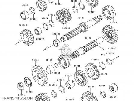 Kawasaki 2000 A10: Kle500 parts list partsmanual partsfiche