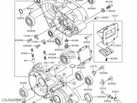Kawasaki 2000 L2: Kx125 parts list partsmanual partsfiche