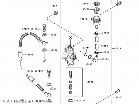 Kawasaki 2000 L2: Kx125 (north America) parts list