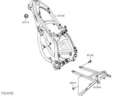Kawasaki 2000 L2: Kx250 parts list partsmanual partsfiche