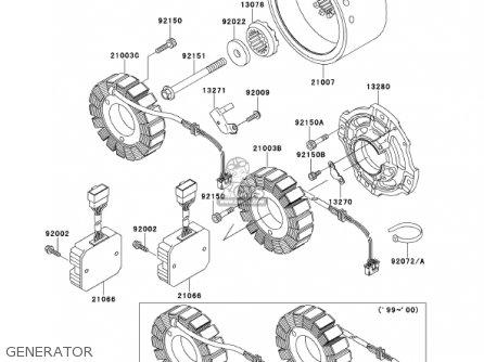 Kawasaki 2000 Vn1500-g2a Vulcan 1500 Nomad parts list